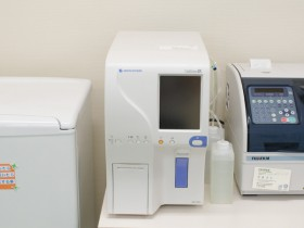 血球測定器の写真