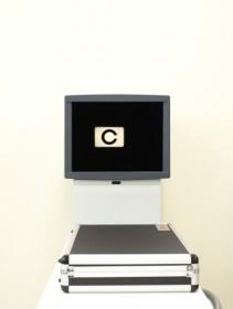 1m視力・5m視力測定機の写真