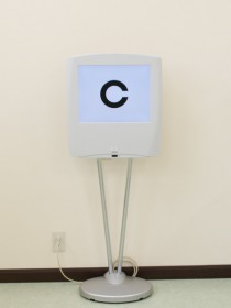 視力測定機の写真