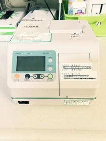 インフルエンザ精密測定装置の写真
